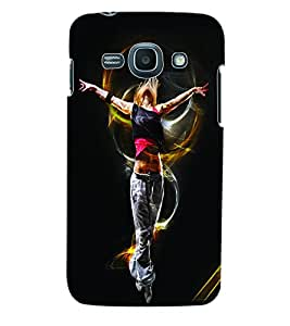 ColourCraft Dance Back Case Cover for SAMSUNG GALAXY ACE 3