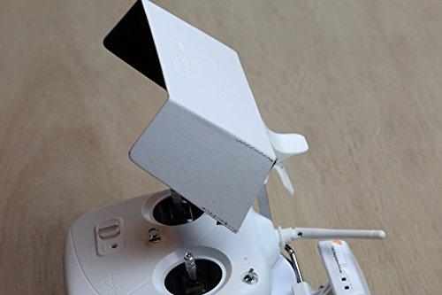 SummitLink® White Sun Hood Sun Shade for DJI Phantom 2 Vision Vision+ Samsung S4 HTC iPhone