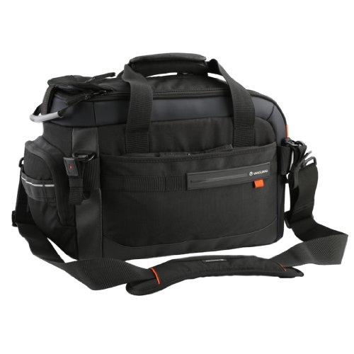 VANGUARD ショルダーバッグ Quovio 36 デジタルHDビデオカメラまたはバッテリーグリップ/一眼レフ/24-70mmレンズ装着+交換レンズ+機材類対応+ノートPC+三脚 ブラック