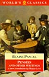 Pensées and Other Writings (The World's Classics) (0192829904) by Pascal, Blaise