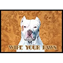Pit Bull Wipe Your Paws Indoor / Outdoor Floor MAT 18 X 27 Inches