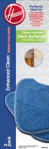 Review Of Hoover Enhanced Clean Steam Mop Pad - 2 pack - WH01000
