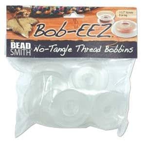 Bag of 8 No Tangle Thread Bobbins 1 7/8 Inch