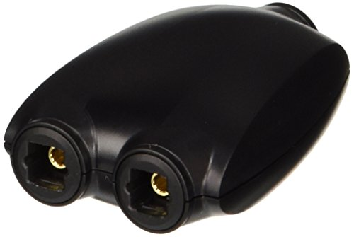 C2G / Cables To Go 27027 Toslink Digital Audio Splitter (Black)