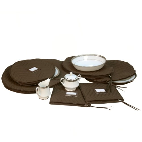 Richards Homewares Micro Fiber Deluxe Six Piece Accessory Set (Richards China Storage compare prices)