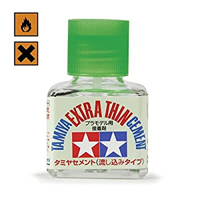 Tamiya Extra Thin Cement Glue with Brush