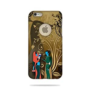 Apple Iphone 6 Logo Cut Printed Back COVER (3D)RK-AD011