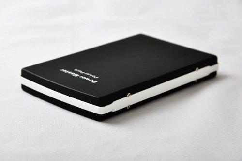 【PSE認証】大容量だけどカバンにポン! 9600mAh バッテリーチャージャー docomo au SB携帯電話、スマートフォンやゲーム機の予備バッテリーに!