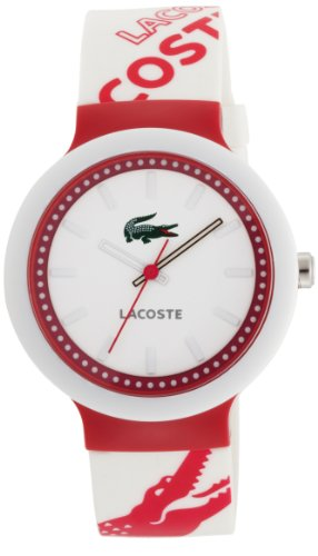 Lacoste Goa White Dial Polyurethane Strap Ladies Watch 2010523