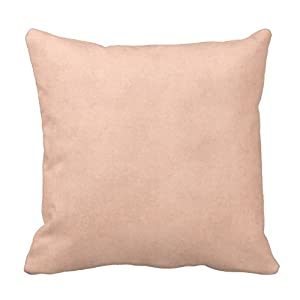 Amazon.com - Vintage Dusty Peach Parchment Template Blank Throw Pillow Square Throw Pillow Cover ...