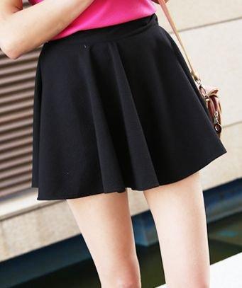 フレアミニスカート koei storeブラック Y707