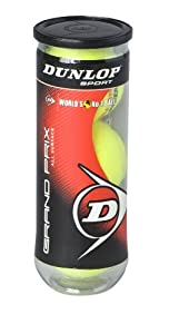 Buy Dunlop Sports Grand Prix Hard Court 3 Ball Can by Dunlop Sports