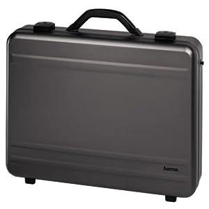 hama 11185 accessoire pour pc portable malette pc aluminium anthracite poucesalu 17 pouces. Black Bedroom Furniture Sets. Home Design Ideas
