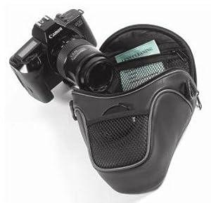 Opteka H400 DSLR Camera Short Zoom Holster Case w/Adjustable Shoulder Strap