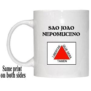 "Minas Gerais - ""SAO JOAO NEPOMUCENO"" Mug"
