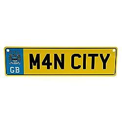 Manchester City F.C. Window & Fridge Sign Set