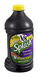 V8 Splash Grape Blend Juice (Case of 8)