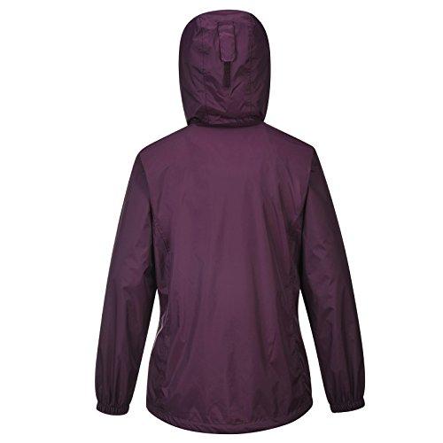 COX SWAIN Damen Outdoor Funktions Regenjacke GALE 8.000mm Wassersäule + 5.000mm atmungsaktiv, Farbe: Purple, Größe: M -
