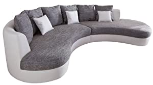 wohnlandschaft sofagarnitur couchgarnitur hocker ecksofa. Black Bedroom Furniture Sets. Home Design Ideas