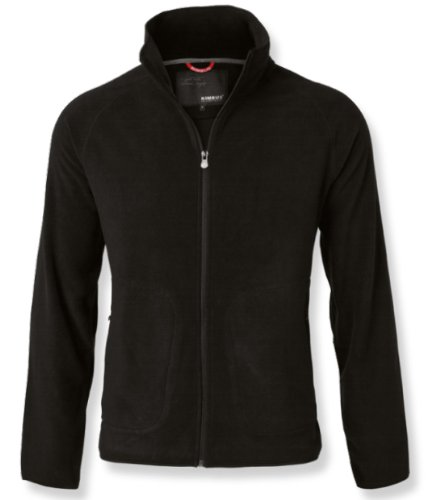Nimbus NB04M Micro Polyester Mens Utica Fleece Jacket, Small, Black