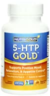 5-HTP 100mg, 120 Vegetarian Capsules – The GOLD Standard Pure 5-HTP Extract Guaranteed Free of…