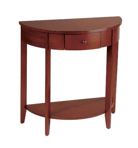 Madison and Espresso Collection Hall Table