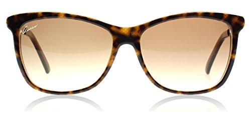 Gucci 3675S 4Wj Tortoise 3675S Wayfarer Sunglasses Lens Category 2