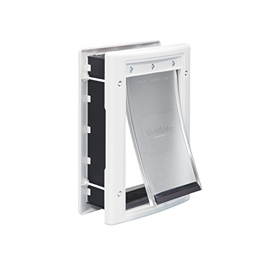 PetSafe Plastic Pet Door with Soft Tinted Flap, White, Small (Dog Door Glass compare prices)