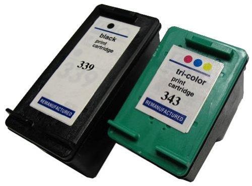 HP Druckerpatronen Refill C9867EE + C8766EE Nr. 339 + 343,344 Youprint