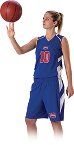 Don Alleson 539J Women's Basketball Jersey Stock Uniform (Call 1-800-327-0074 to order)