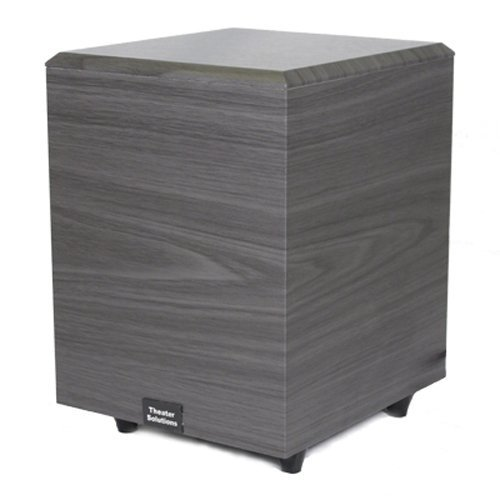 Theater Solutions Sub8D Down Firing Powered Subwoofer (Black)