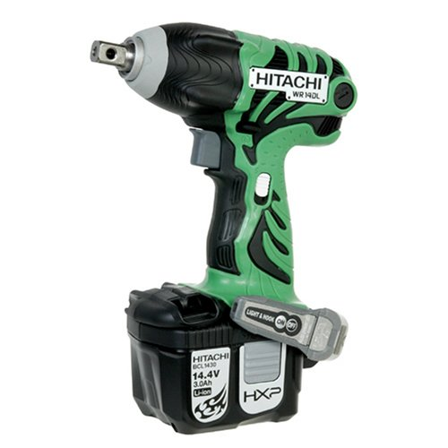 Hitachi WR14DL 14.4-Volt Lithium-Ion Cordless Impact Wrench