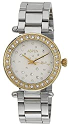 Aspen Analog White Dial Womens Watch - AP1744