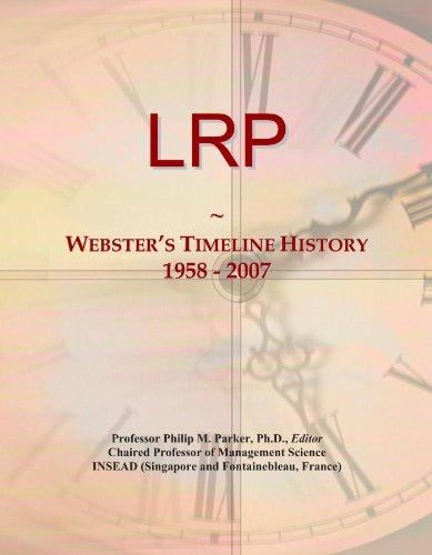 LRP: Webster's Timeline History, 1958 - 2007
