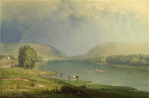 [The High Quality Polyster Canvas Of Oil Painting 'George Inness The Delaware Water Gap ' ,size: 20 X 30 Inch / 51 X 77 Cm ,this High Resolution Art Decorative Canvas Prints Is Fit For Garage Gallery Art And Home Decor And] (Famous Musical Costume Designers)