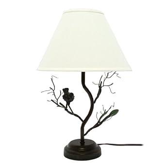 Birds Amp Berries Decorative Metal Table Lamp Tree Lamp