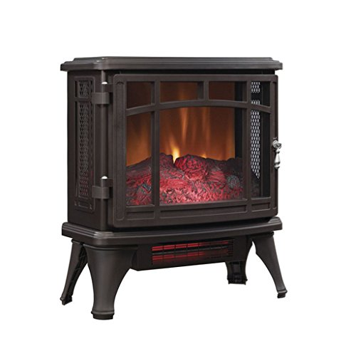 Electric Fireplace,Electric Stove Heater,Bronze Infrared Quartz,Well-suited for Small Spaces,Hallways or Vestibules. , Duraflame DFI-8511-02 (Infrared Quartz Stove Fireplace compare prices)