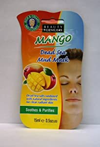 Beauty Formulas Mango Dead Sea Mud Mask