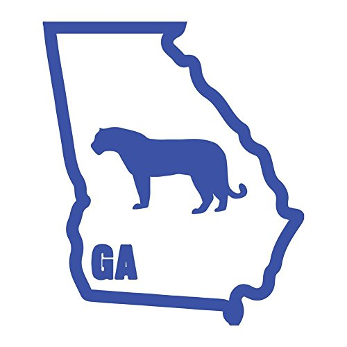 Original I Panther Georgia Variant Classic University Vinyl Decal (Georgia State University Decal compare prices)