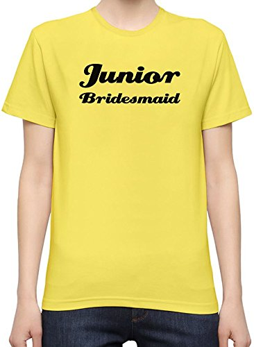 Junior Bridesmaid Funny Slogan T-Shirt per Donne XX-Large