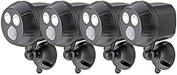 4-Pack Mr. Beams 300-Lumen Ultrabright Spotlight