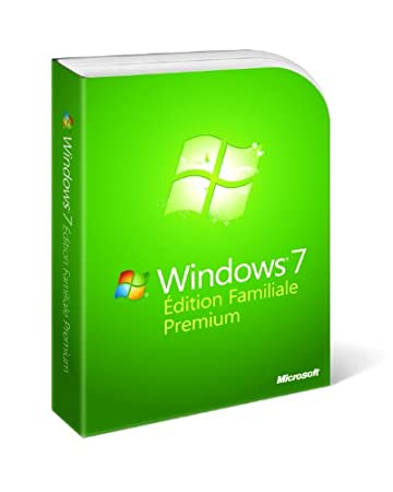 Windows 7 Edition Familiale Premium