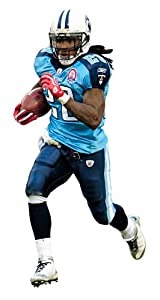 Fathead NFL Tennessee Titans Chris Johnson Junior Wall Graphic by Fathead