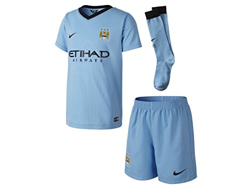 Manchester City Home Little Boys Kit 2014 / 2015
