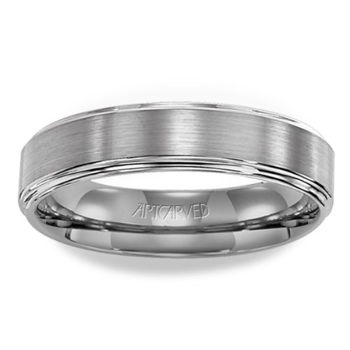 11-Wv2146C Lowell Tungsten Carbide Wedding Band From Artcarved