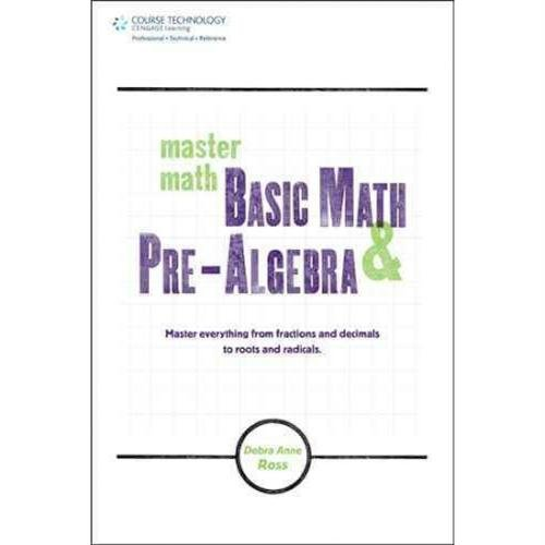 Master Math: Basic Math and Pre-Algebra - 1