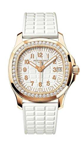 patek-philippe-ladies-aquanaut-rose-gold-diamond-bezel-white-rubber-strap