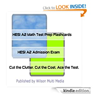 Hesi A2 Test Math - Pre-Nursing Student.