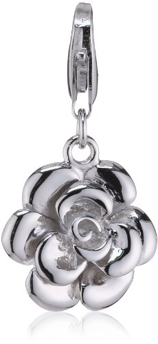 Rafaela Donata Charm Collection Damen-Charm Rose 925 Sterling Silber  60600105