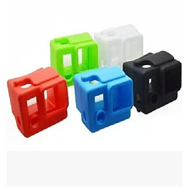 Flash-Ddl Gopro Hero3 Generation Of Silicone Sets Dark Blue Green Red And White , Green